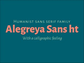 Alegreya Sans