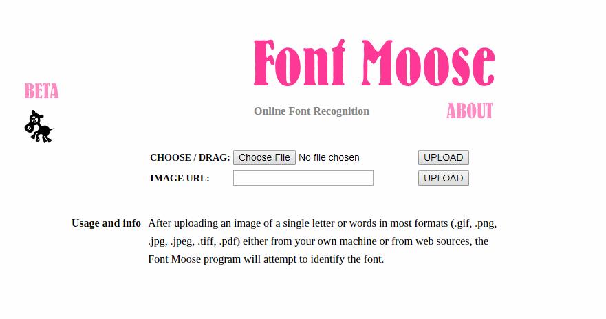Font Moose