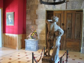 Chateau Haut Brion barrel anteroom photo by Paige Donner copyright 2017 IMG_2607