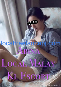 Local Freelance Girl - Abina - Malay