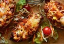 Garden Fresh Recipes: Potato skin taco