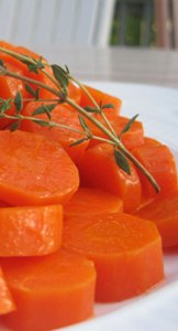 gingered carrot recipe