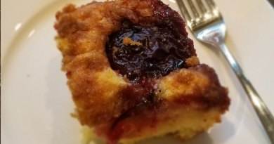 Garden Fresh Recipes: Plum cake