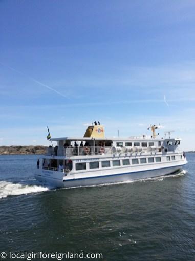 Ferry ride / archipelago, Gothenburg