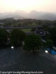 From the top floor of Kumamoto Castle