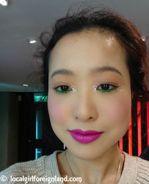 After. With all the make up under the sun. 90min full face make up at MAC