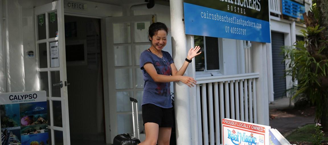 Cairns Beaches Flashpackers Hostel Review Local Girl
