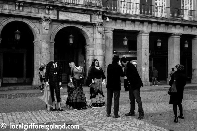 """Scammers"", Plaza Mayor Madrid"