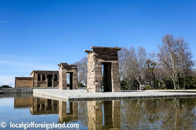 Highlights of Madrid, Templo de Debod