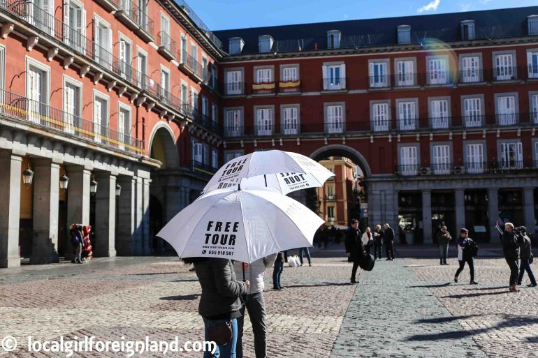Madridapie.com Madrid free tour
