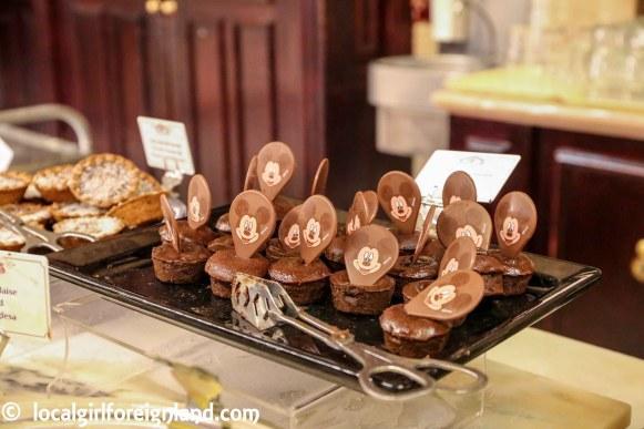 Mickey Mouse cake, inside Plaza Garden, Disneyland Paris