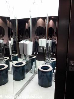 Mirror themed toilets, La Felicità