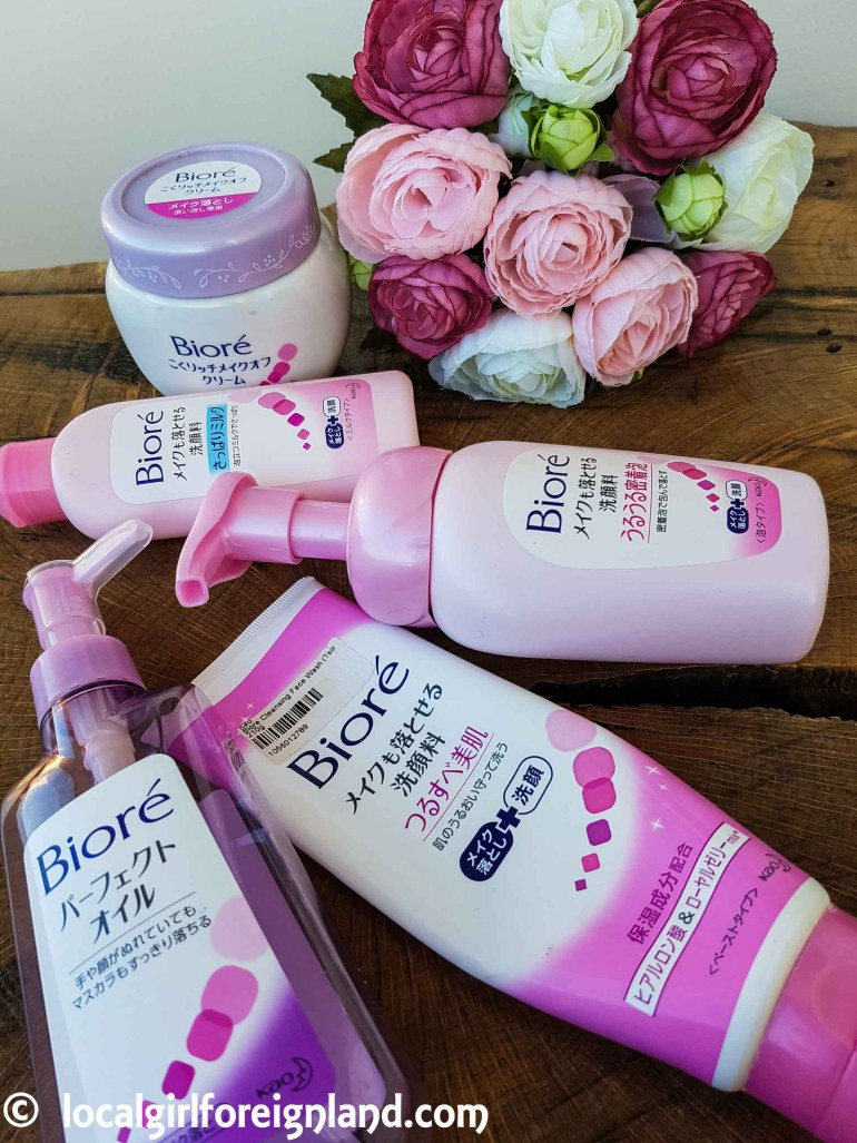 Empties review: Bioré cleansers, Japanese edition