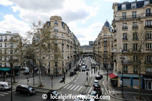 Elevated view of Paris 12 from Coulée Verte René-Dumont