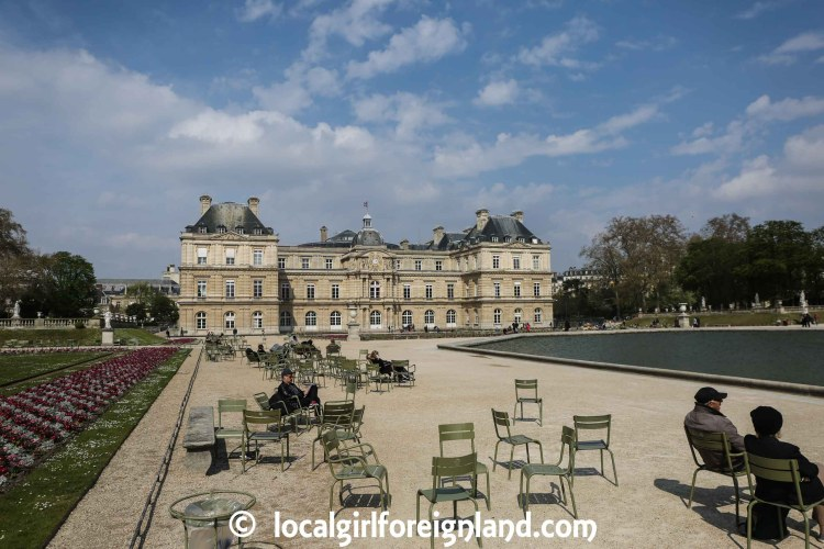 Luxembourg Garden, summer, Paris