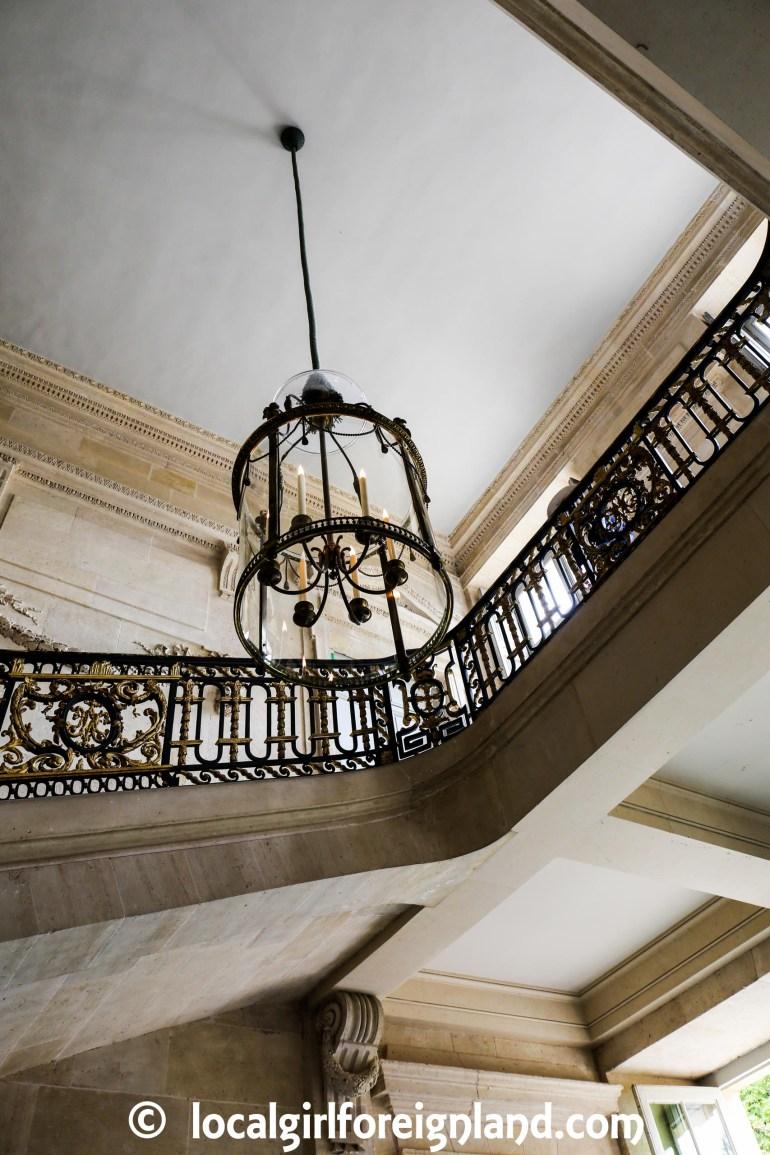 Main stair case in Petit Trianon, Versailles