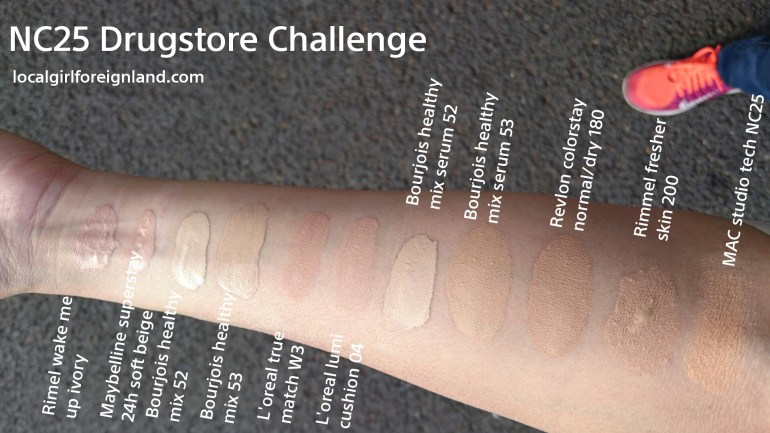 NC25 drugstore colour dupe challenge.jpg