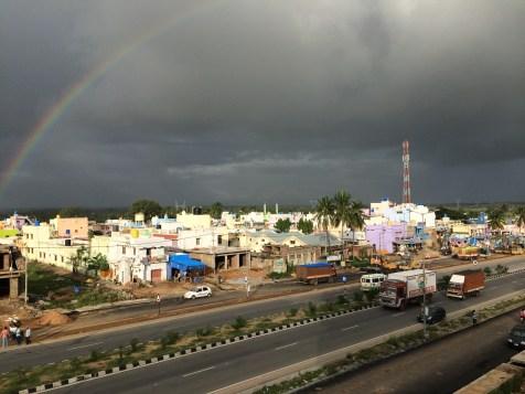 Rainbow @ Nangali Village