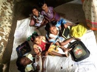 Anganwadi Center Children at Kerasamangala