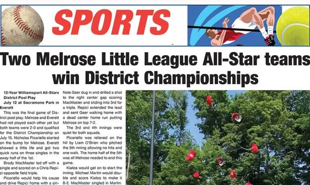 Sports Page: July 23, 2021