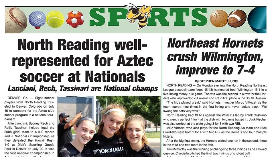 Sports Page: July 29, 2021