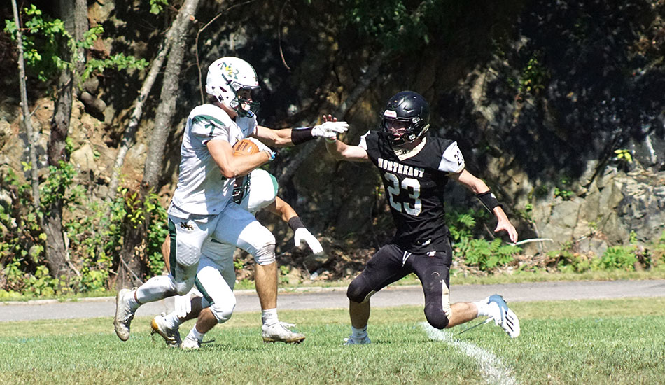 Hornet football starts season with convincing 49-20 win over Northeast