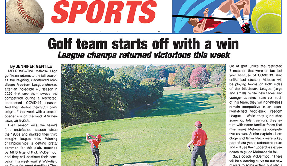 Sports Page: September 10, 2021