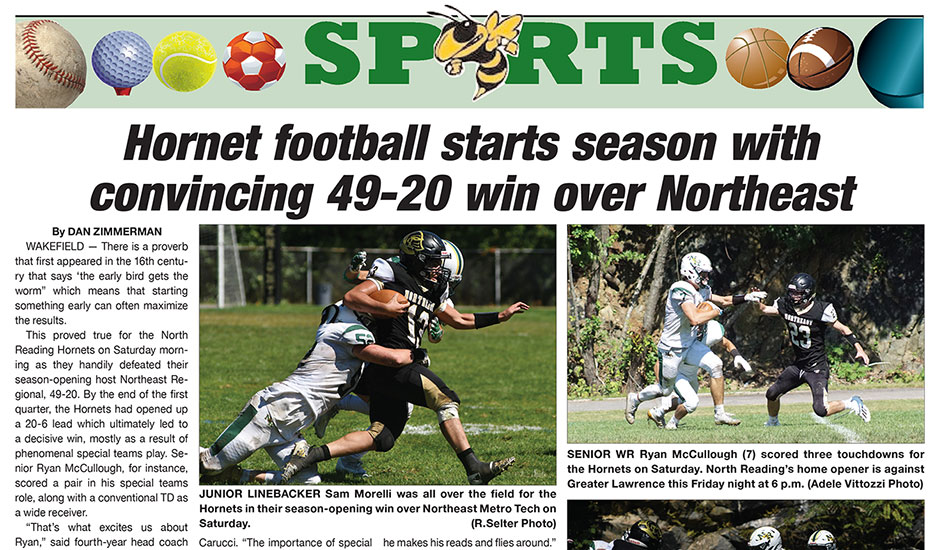 Sports Page: September 16, 2021