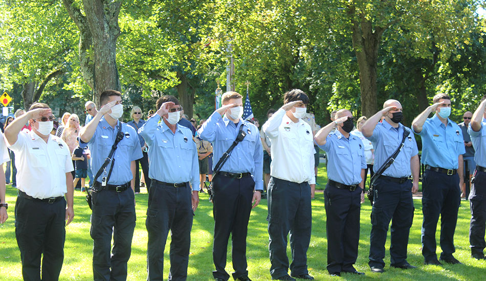 Town remembers 9/11 in solemn, moving ceremony