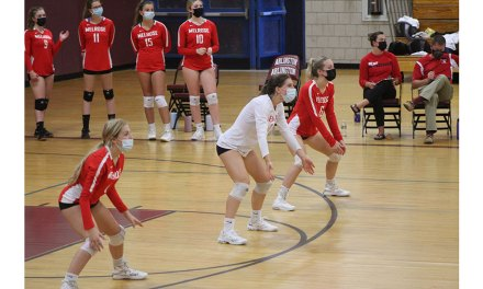 Quick 2-0 start for volleyball team