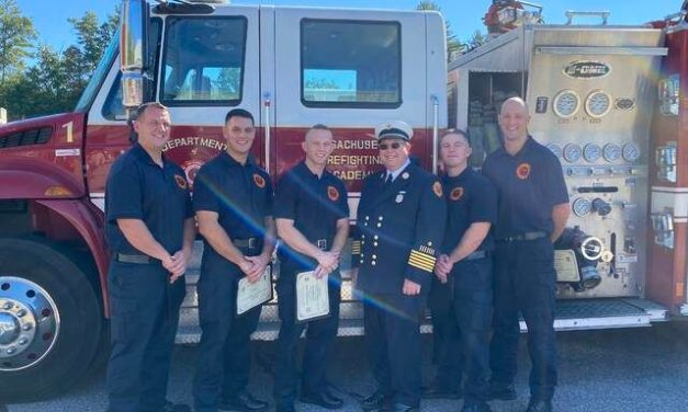 Wakefield has five new firefighters
