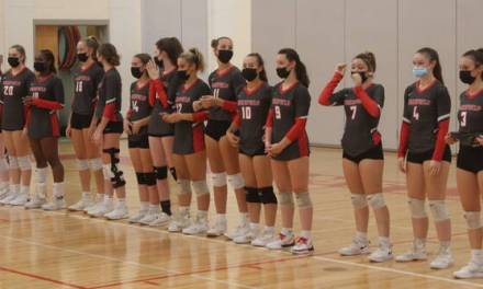 Warrior volleyball is tourney bound for the first time