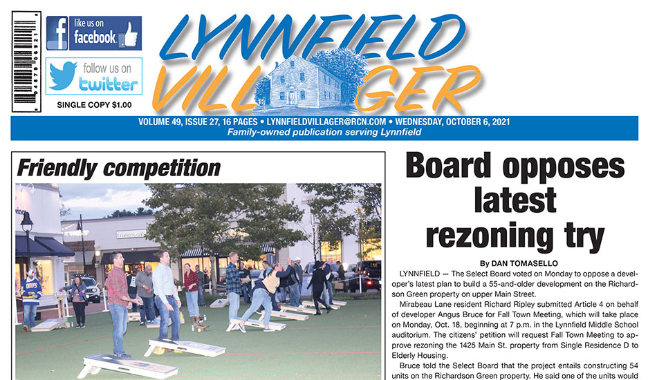 Front Page: October 6, 2021