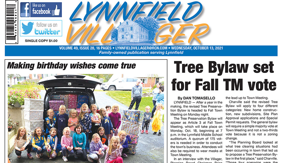 Front Page: October 13, 2021