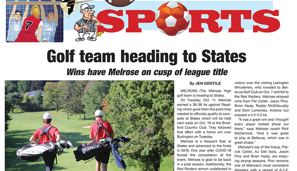 Sports Page: October 15, 2021