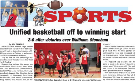 Sports Page: October 22, 2021