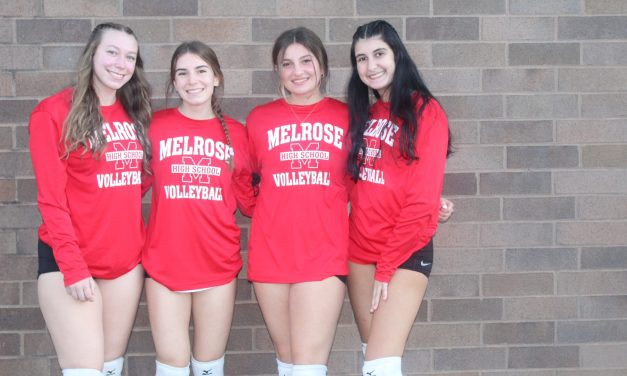 Volleyball team are league champs