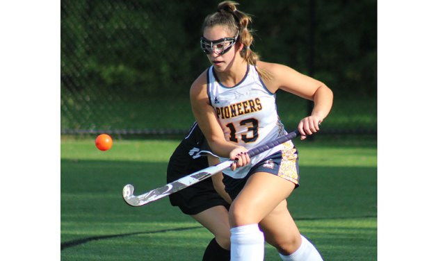 Pioneer field hockey shuts out Georgetown, improves to 5-2-1
