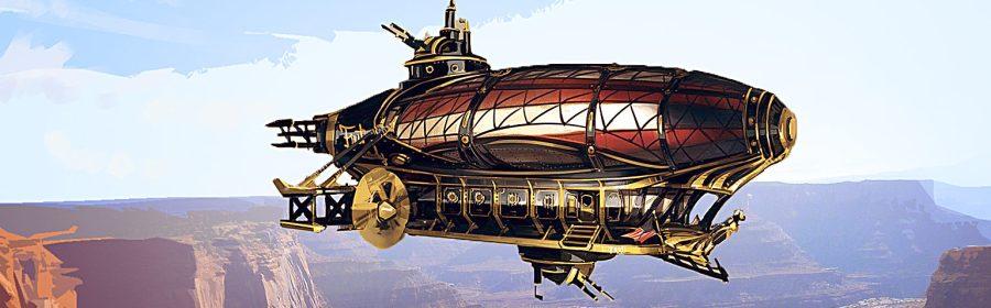 murdoch pennington, ian thomas healy, airship lies, steampunk, weird west, western, airship, anthology, audiobook