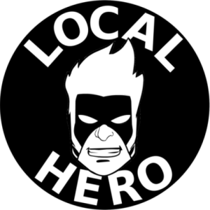 local hero press, publisher, superheroes, science fiction, fantasy, horror