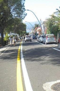 Viale Palmasera a Cala Gonone