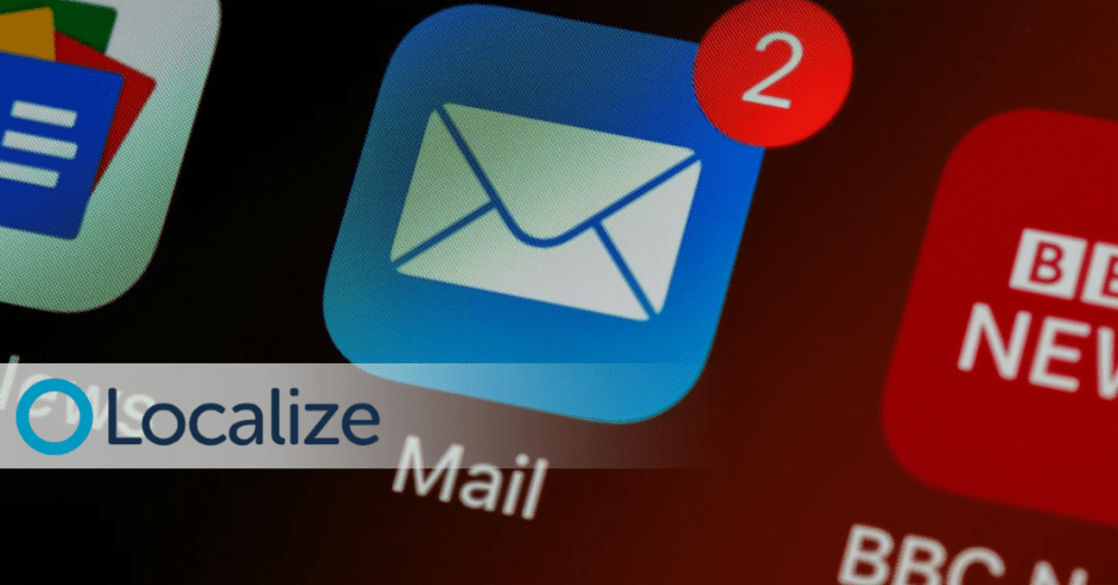 email localization