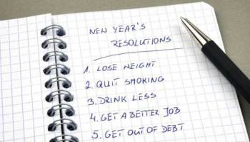 New year resolutions ideas