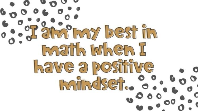 math growth mindset