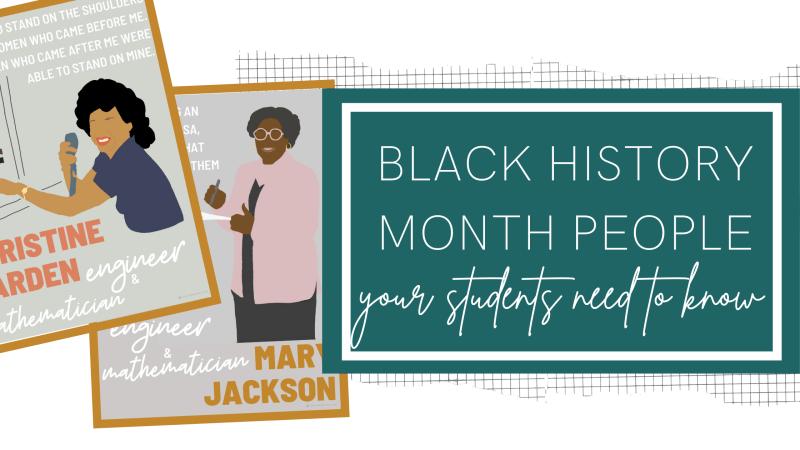 black history month people