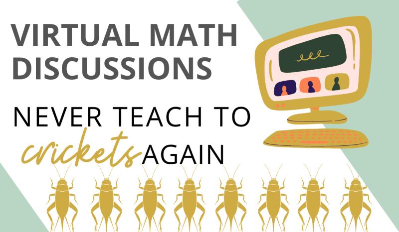 virtual math discussion