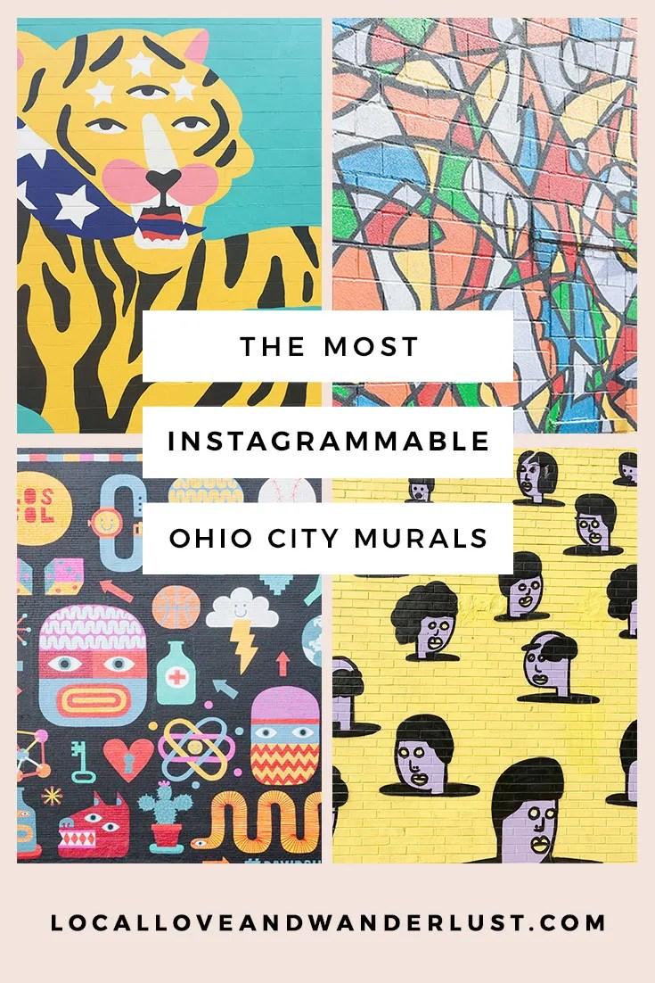Most Instagrammable Murals in Ohio City