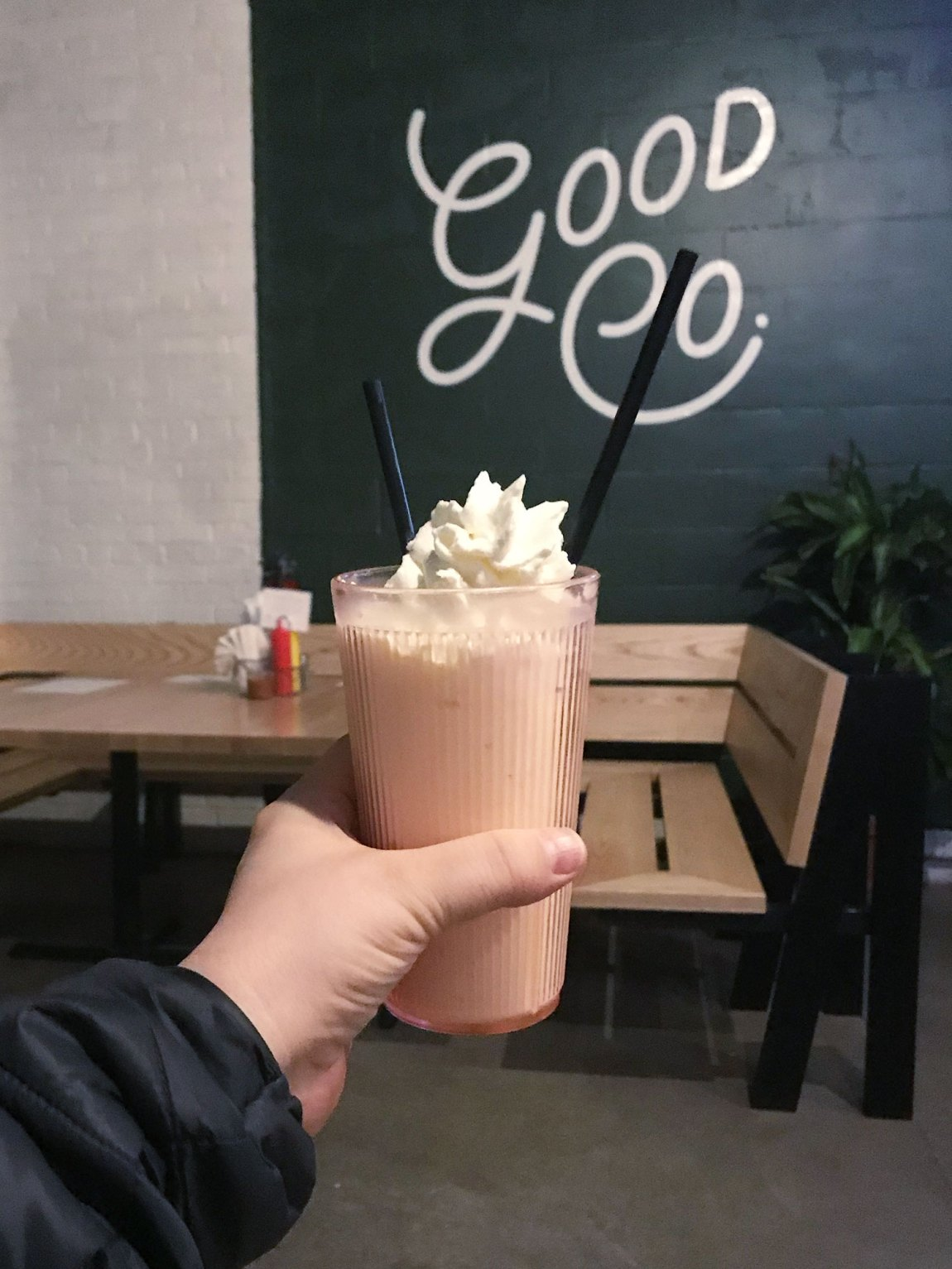 Milkshake at Good Co.