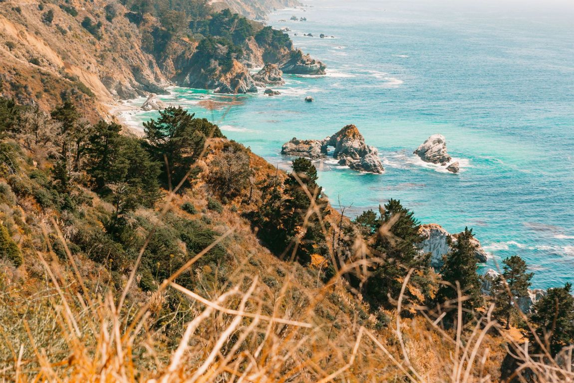 Julia Pfeiffer Burns State Park Vista Point | as seen on the Local Love and Wanderlust Blog