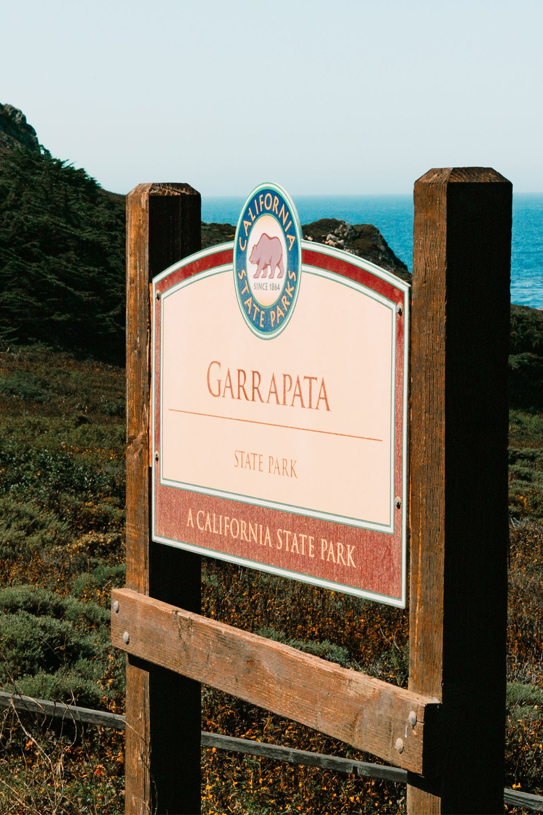 Garrapata State Beach Sign | as seen on the Local Love and Wanderlust Blog